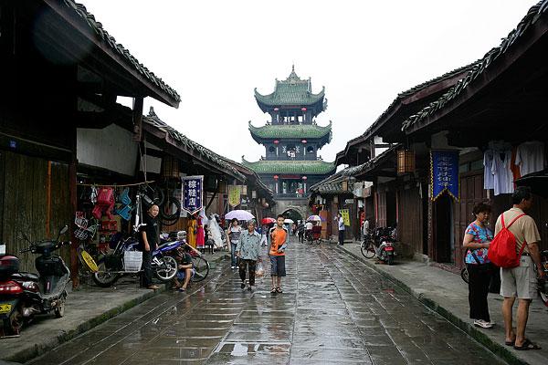 阆中古城旅游景点介绍 成都旅游网