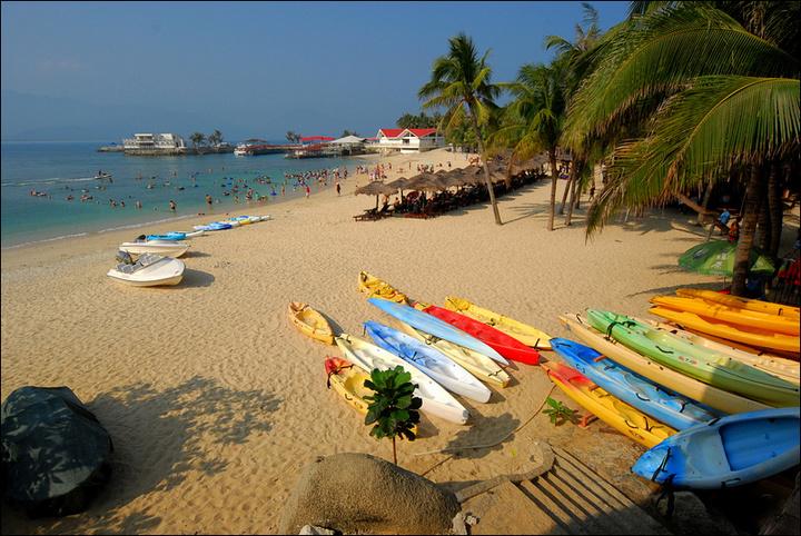 三亚分界洲岛旅游